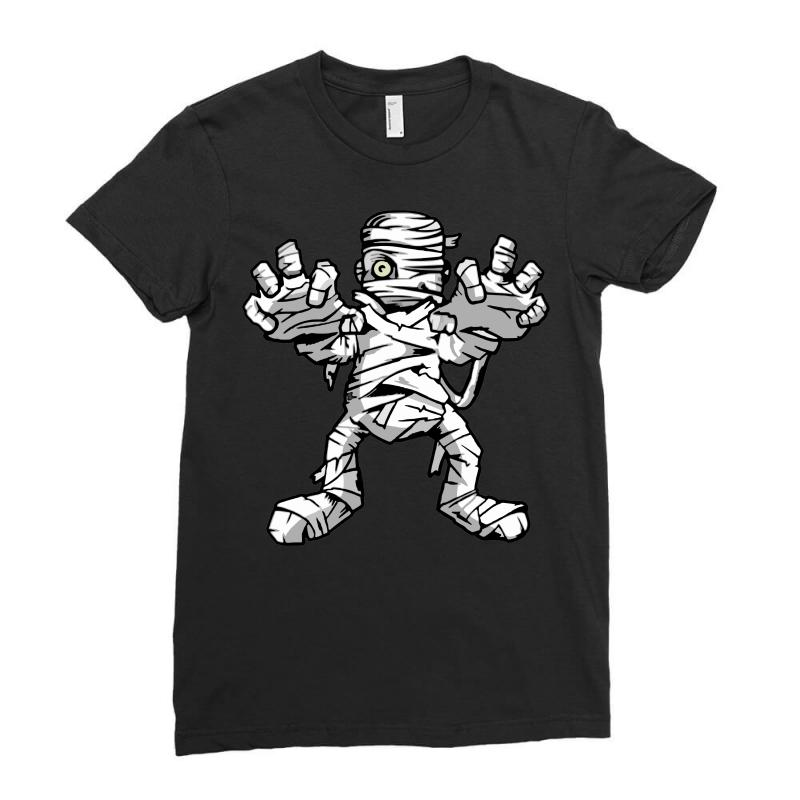 Really Scary Mummy Ladies Fitted T-shirt | Artistshot