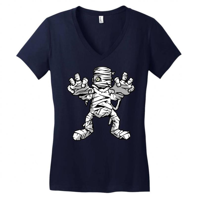 Really Scary Mummy Women's V-neck T-shirt | Artistshot