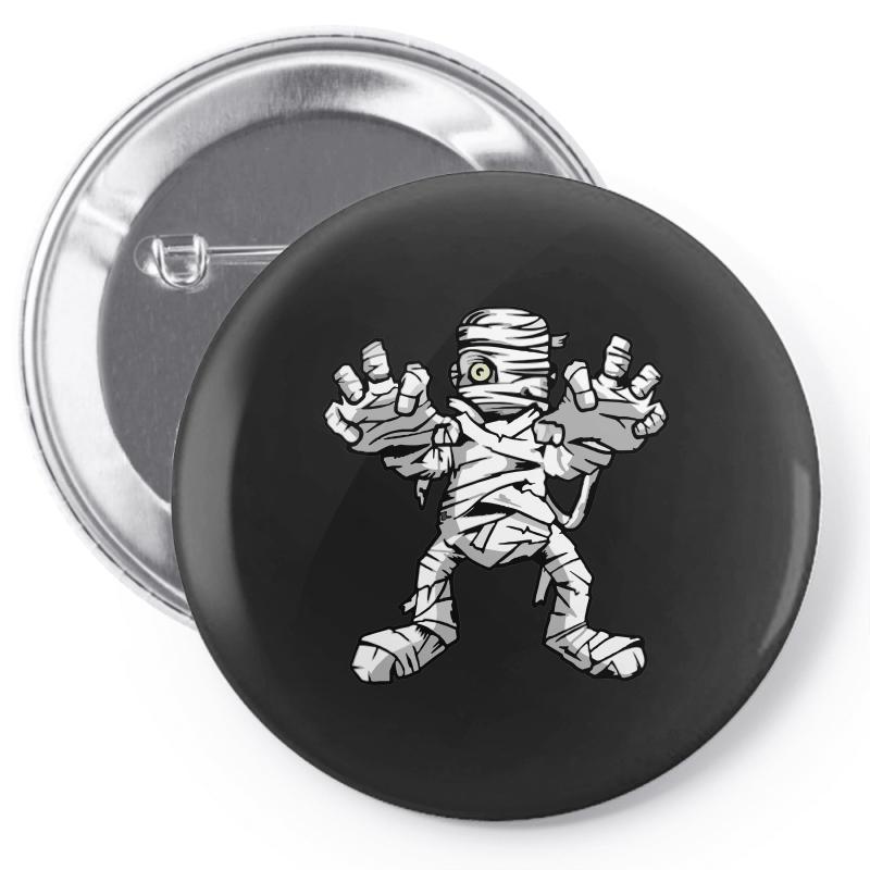 Really Scary Mummy Pin-back Button   Artistshot