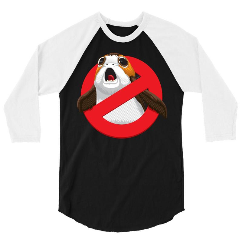 No Porgs! 3/4 Sleeve Shirt | Artistshot