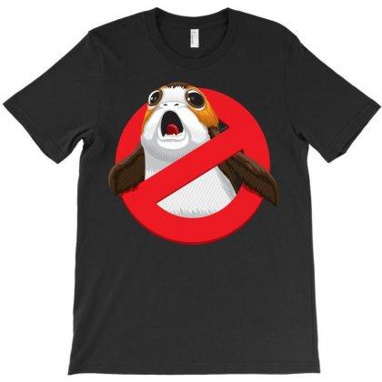 No Porgs! T-shirt Designed By Alienbiker23