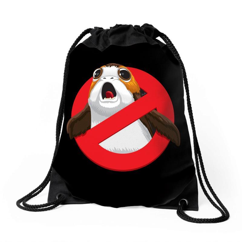 No Porgs! Drawstring Bags | Artistshot