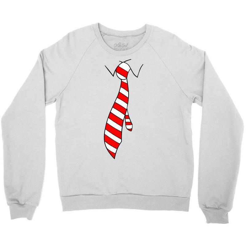 Tie Crewneck Sweatshirt   Artistshot