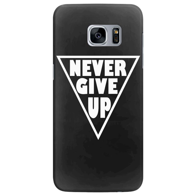 Never Give Up Samsung Galaxy S7 Edge | Artistshot