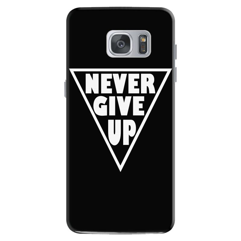 Never Give Up Samsung Galaxy S7 | Artistshot