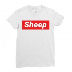 Sheep (iDubbbz Merch) Supreme Ladies Fitted T-Shirt | Artistshot
