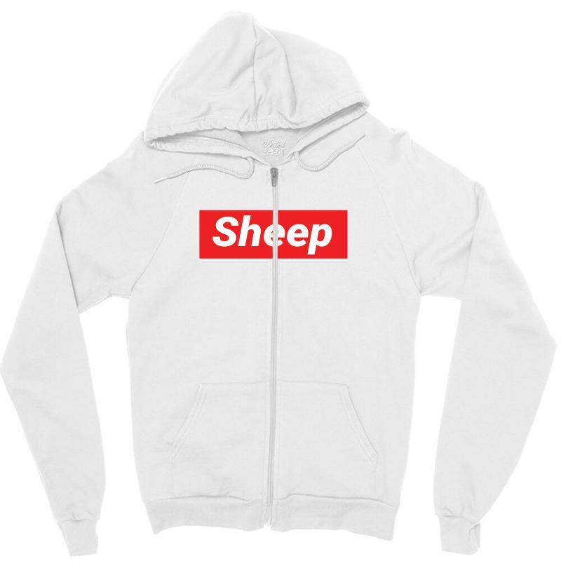 Sheep (idubbbz Merch) Supreme Zipper Hoodie | Artistshot