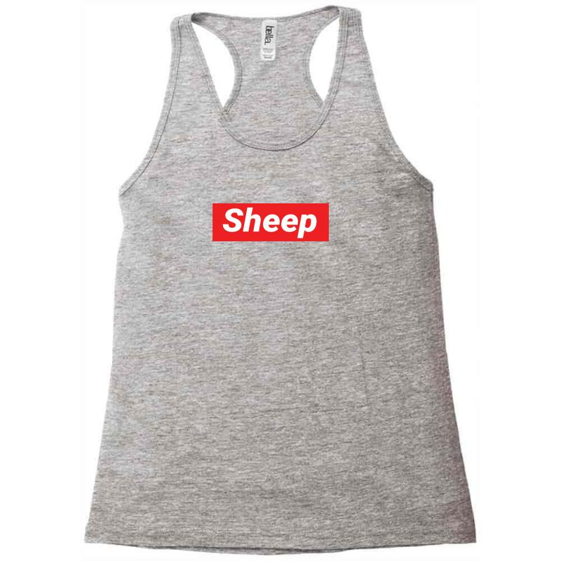cb501e045b67 Custom Sheep (idubbbz Merch) Supreme Racerback Tank By Tshiart - Artistshot
