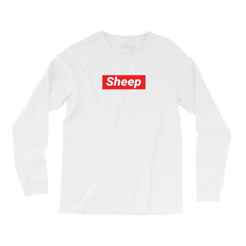 Sheep (idubbbz Merch) Supreme Long Sleeve Shirts   Artistshot