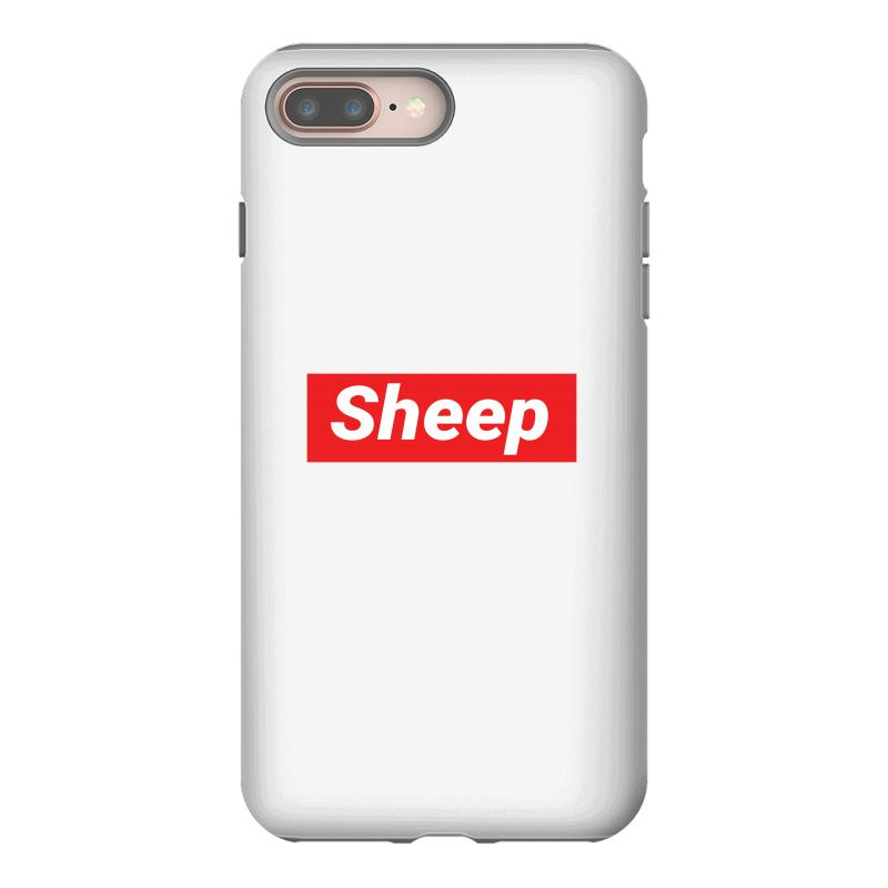 Sheep (idubbbz Merch) Supreme Iphone 8 Plus Case | Artistshot