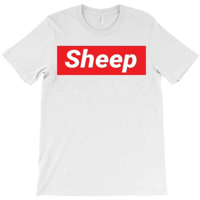 7f4ff6fbb698 Custom Sheep (idubbbz Merch) Supreme T-shirt By Tshiart - Artistshot