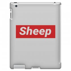 Sheep (iDubbbz Merch) Supreme iPad 3 and 4 Case | Artistshot