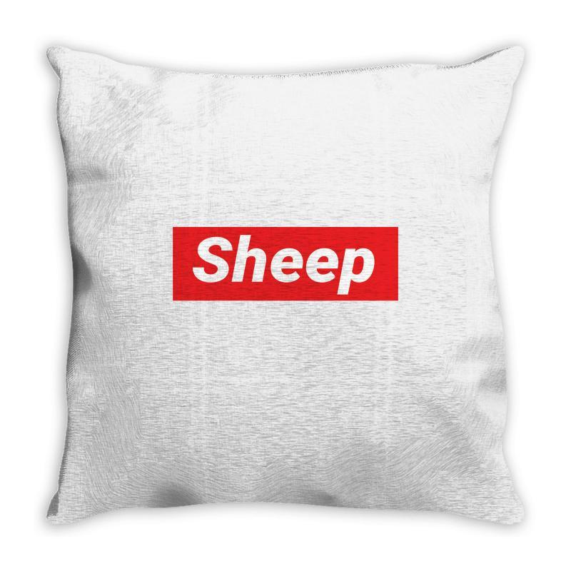 Sheep (idubbbz Merch) Supreme Throw Pillow | Artistshot