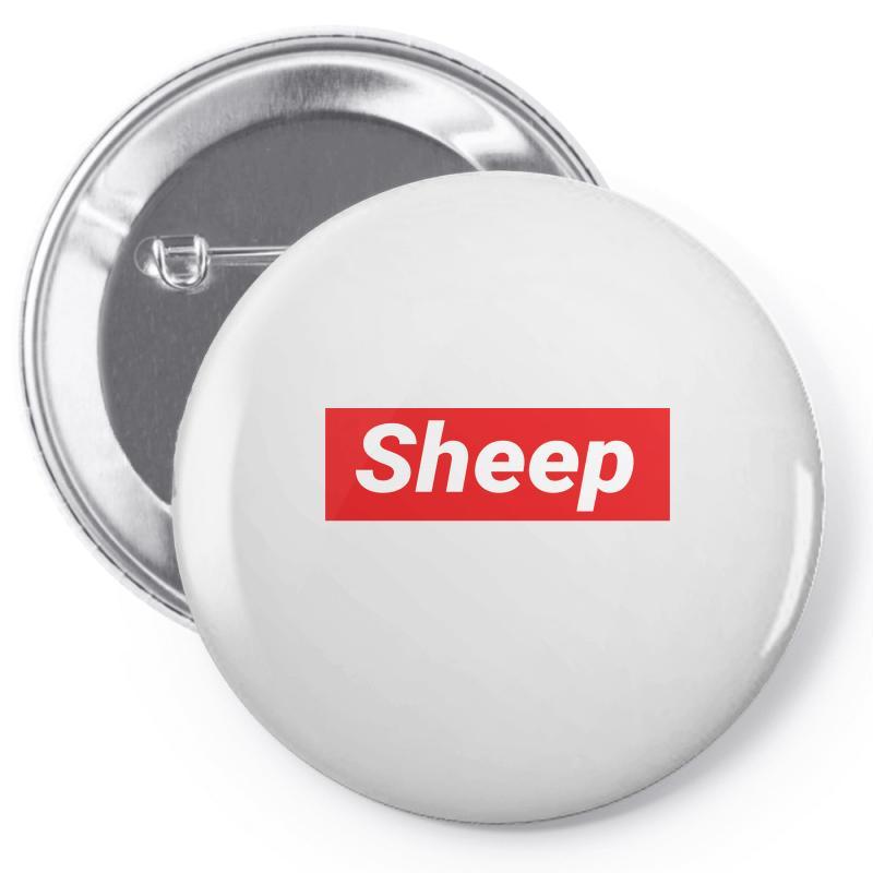 Sheep (idubbbz Merch) Supreme Pin-back Button | Artistshot