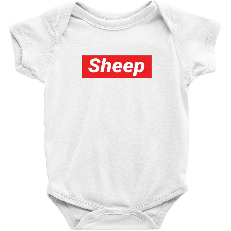 Sheep (idubbbz Merch) Supreme Baby Bodysuit | Artistshot