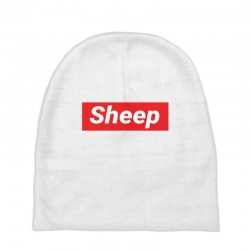 Sheep (iDubbbz Merch) Supreme Baby Beanies | Artistshot
