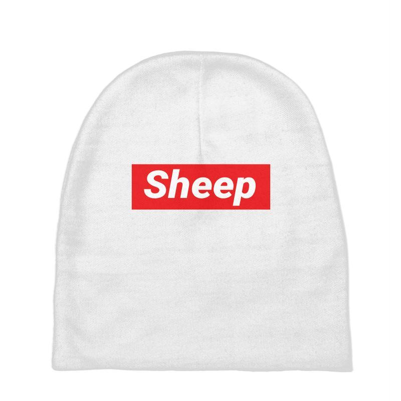 Sheep (idubbbz Merch) Supreme Baby Beanies | Artistshot