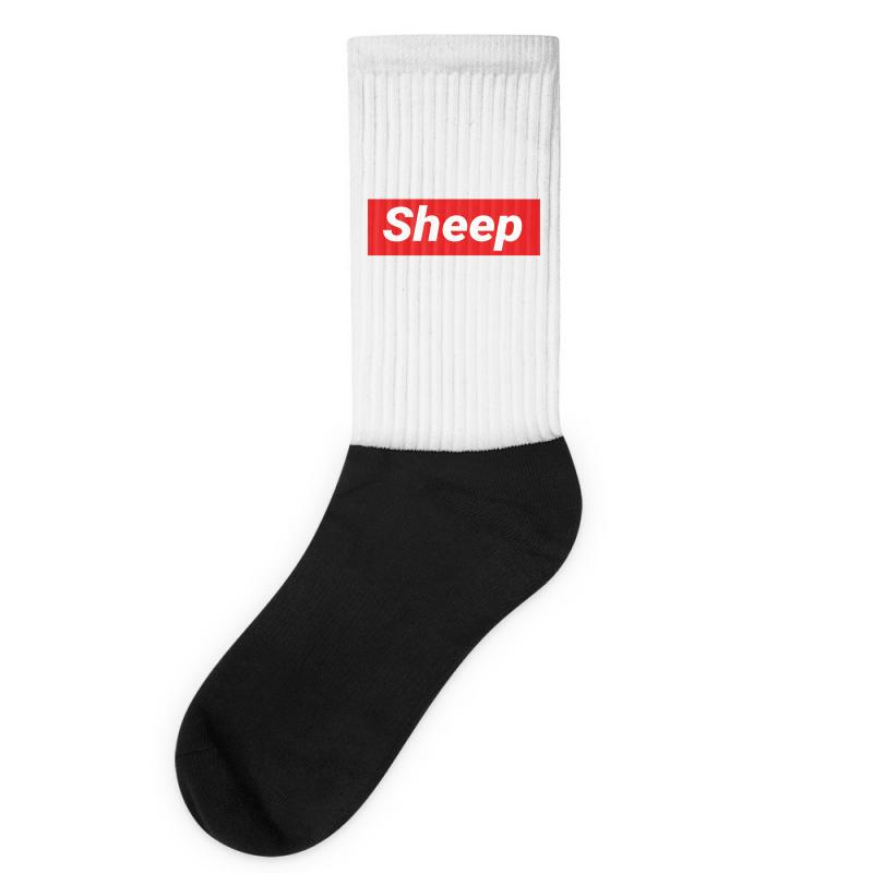 Sheep (idubbbz Merch) Supreme Socks | Artistshot