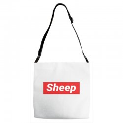 Sheep (iDubbbz Merch) Supreme Adjustable Strap Totes | Artistshot