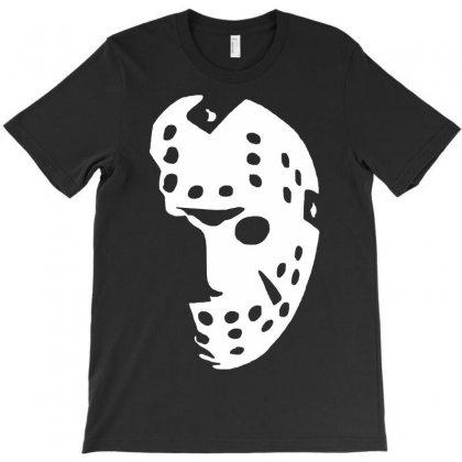 Halloween Hockey Mask T-shirt Designed By Budi