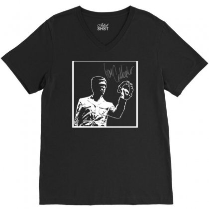 Liam Gallagher V-neck Tee Designed By Budi