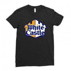 walter white castle Ladies Fitted T-Shirt | Artistshot