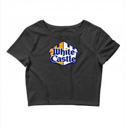 walter white castle Crop Top | Artistshot