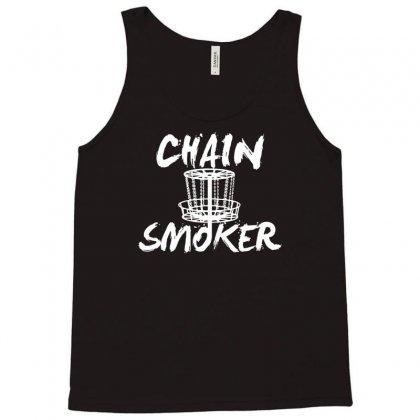 Chain Smoker Disc Tank Top Designed By Budi