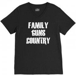 family, guns, country V-Neck Tee | Artistshot