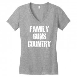 family, guns, country Women's V-Neck T-Shirt | Artistshot