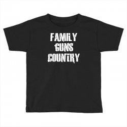 family, guns, country Toddler T-shirt | Artistshot