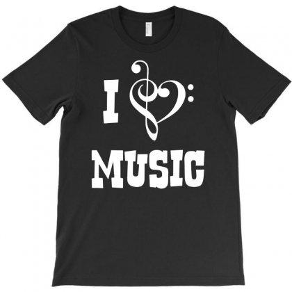 I Love Music T-shirt Designed By Budi
