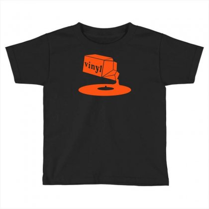 Vinyl Record Toddler T-shirt Designed By Budi