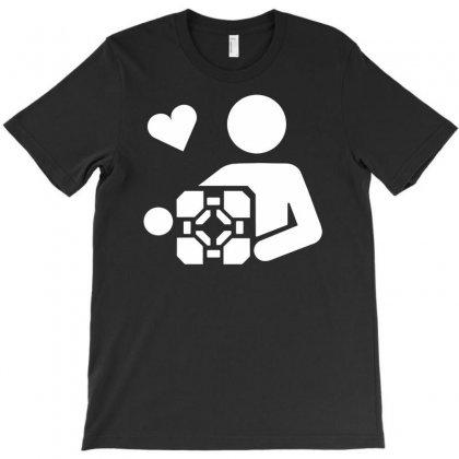 Adesivo Companion Cube Portal T-shirt Designed By Budi