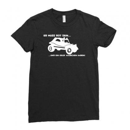 Buggy Wie Aus Dem Film Zwei Wie Pech Ladies Fitted T-shirt Designed By Budi