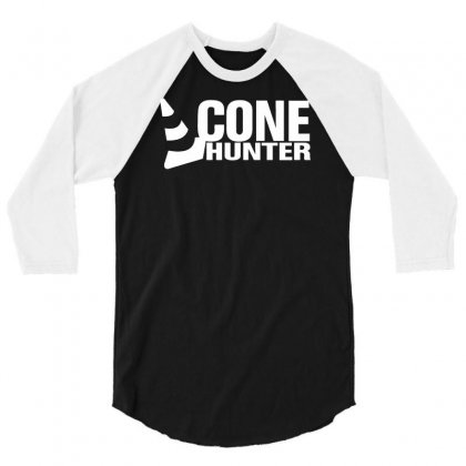 Cone Hunter 3/4 Sleeve Shirt Designed By Budi