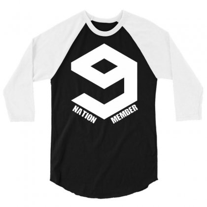 Nation Member 3/4 Sleeve Shirt Designed By Budi