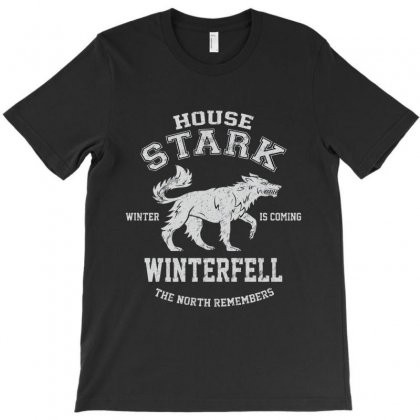 House Stark Winterfell T-shirt Designed By Amico