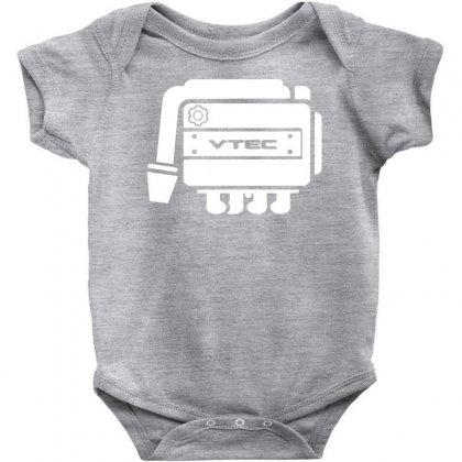 Vtec Engine Baby Bodysuit Designed By Budi