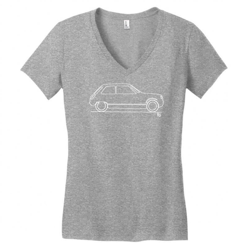 141e3a92fa Custom Original Sketch Classic Car R5 Women's V-neck T-shirt By Budi ...