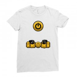 geek utility belt Ladies Fitted T-Shirt | Artistshot