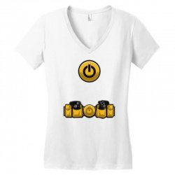 geek utility belt Women's V-Neck T-Shirt | Artistshot
