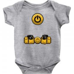 geek utility belt Baby Bodysuit | Artistshot