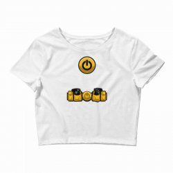 geek utility belt Crop Top | Artistshot