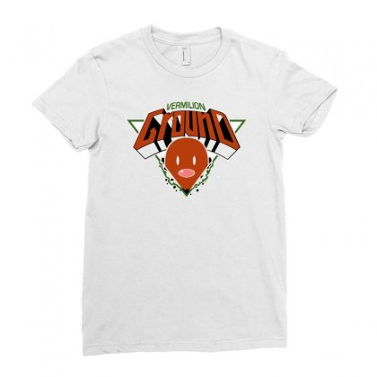 Ground Type Ladies Fitted T-shirt Designed By Budi