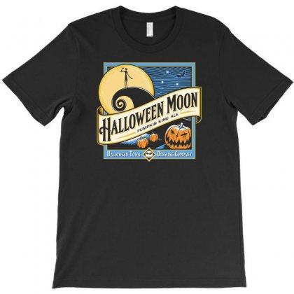 Halloween Moon T-shirt Designed By Budi