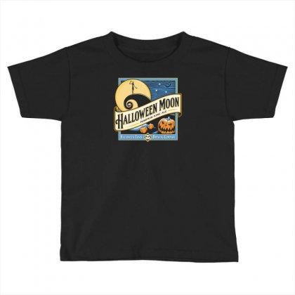 Halloween Moon Toddler T-shirt Designed By Budi