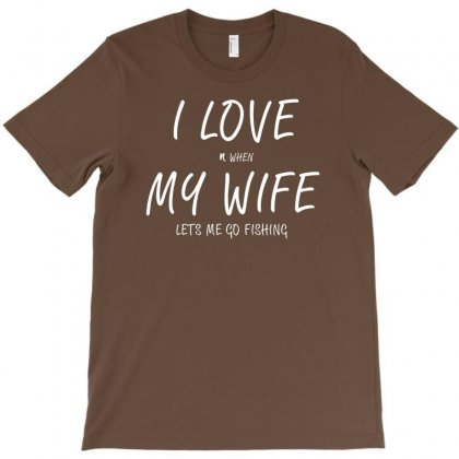 Love My Wife T-shirt Designed By Mdk Art