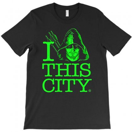 I Heart This City T-shirt Designed By Budi