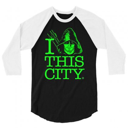 I Heart This City 3/4 Sleeve Shirt Designed By Budi